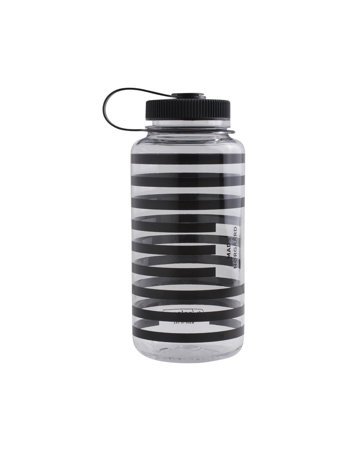 Nalgene Water Bottle 1L, Black/White
