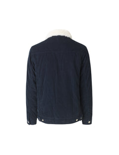 Sherpa Cord Jacket Zaggy, Sky Captain