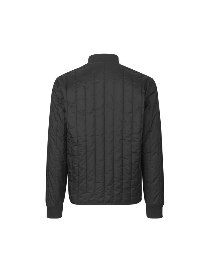 Quilted Rip Stop Jonas, Black