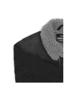 Washed Black/Black Ziggilo Sherpa, Washed Black