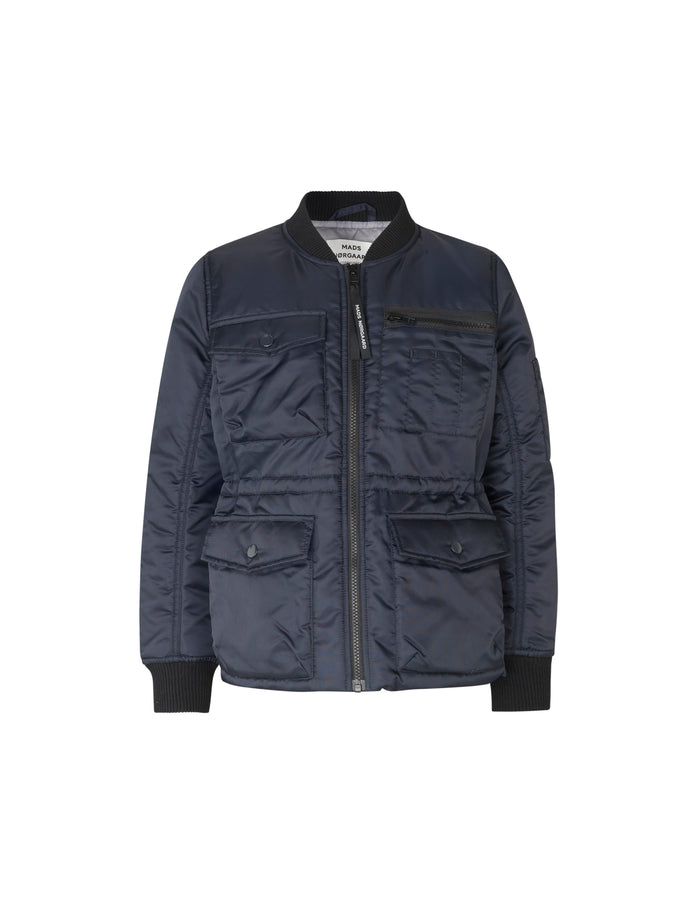 Bomber Nylon Jilly, Dark Navy