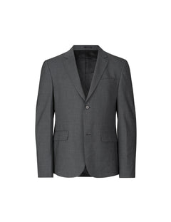 Uniform Wool Baldo, Charcoal Melange