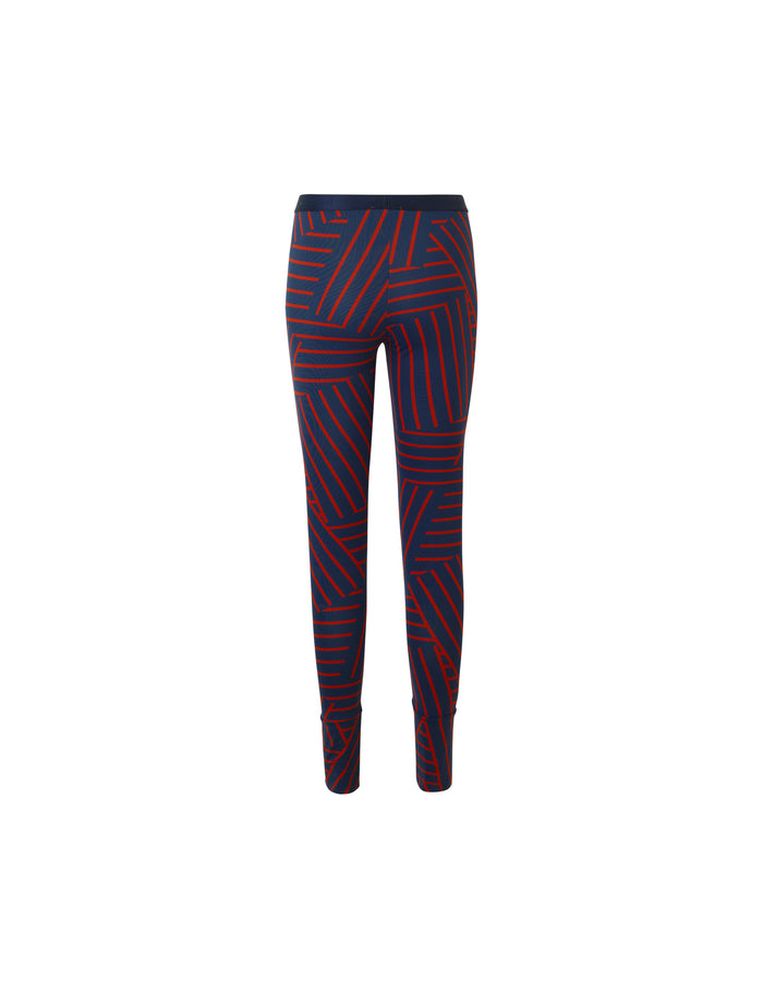 Stretch stripe Lizenna, Navy/Red