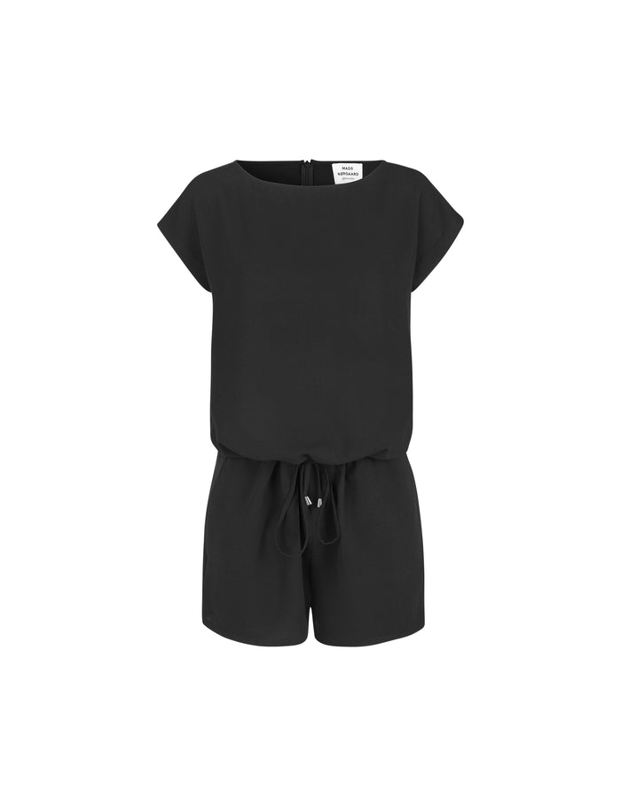 Crepe Georgette Cavi short, Black