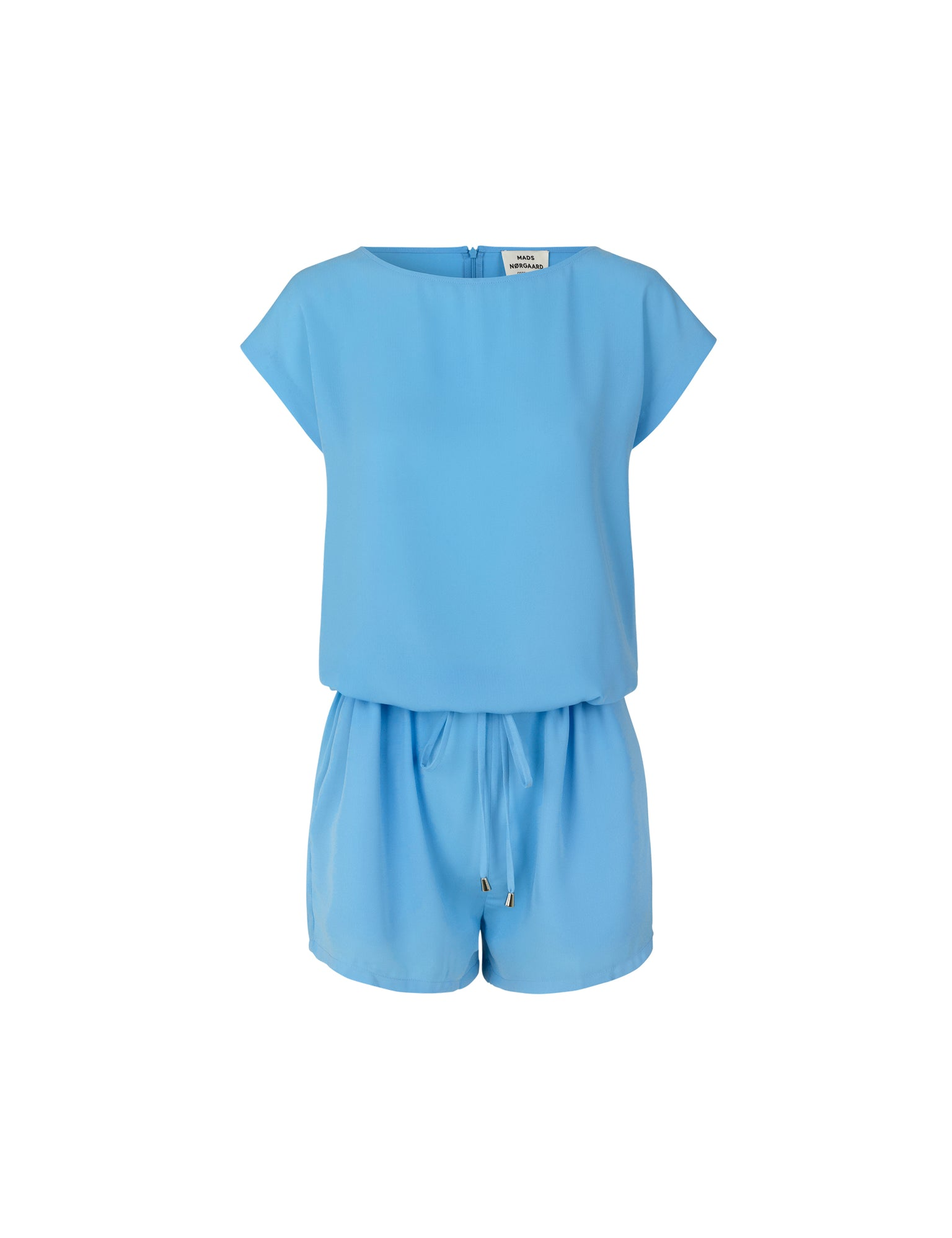 Crepe Georgette Cavi short, Clear Sky
