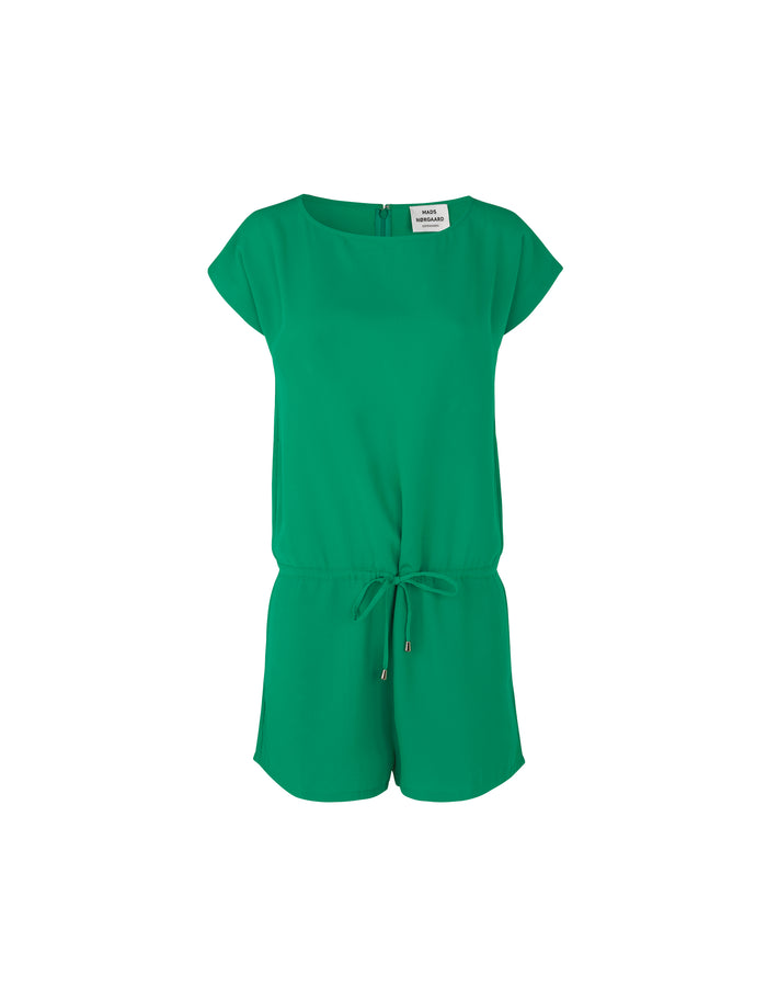 Crepe Georgette Cavi short, Super Green