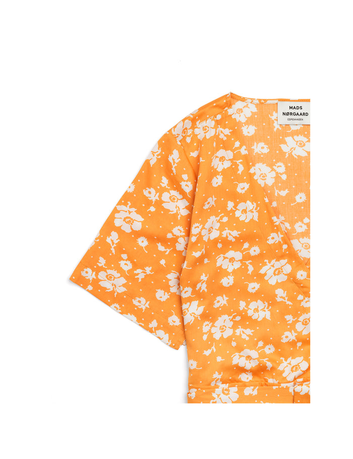 Soft Flower Clanta, Orange/White
