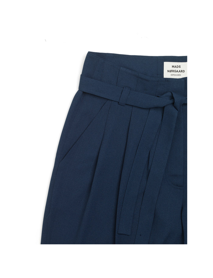 Crepe Georgette Pleasy, Navy