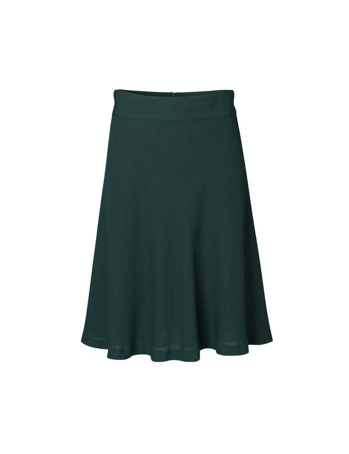 Crepe Georgette Stelly C, Dark Jade