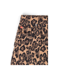 Fresh Denim Safrana, Brown Leopard