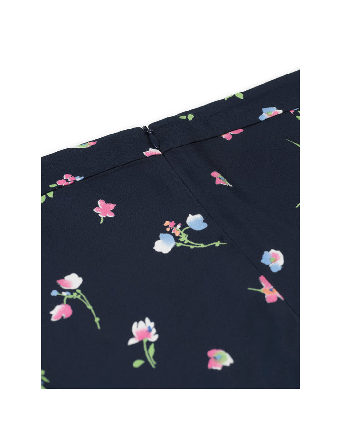 Night Garden Samuella, Navy Flower