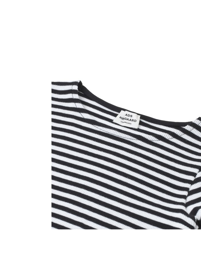 2X2 Soft Stripe Darling N, Black/White