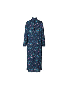 Power flower Dresma, Navy