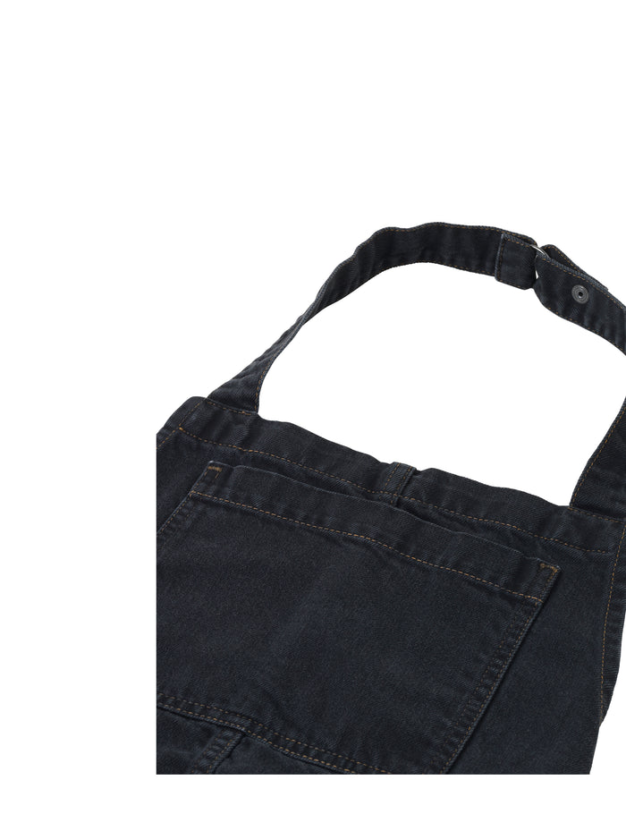 Just Denim Dappa, Washed Black 18.1