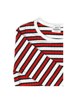 5x5 Stripe Stripe Droni, Red/Black