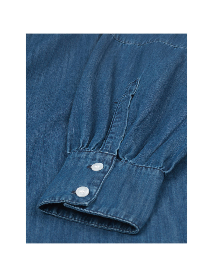 Light Organic Denim Dallas, Indigo Midnight