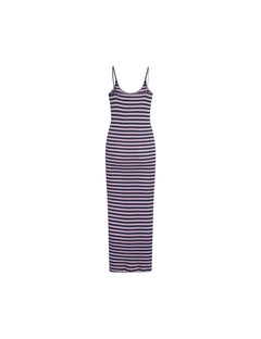 NPS Broadway Strap Dress, Marine/Lilac