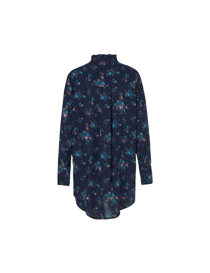 Power flower Safrilla, Navy
