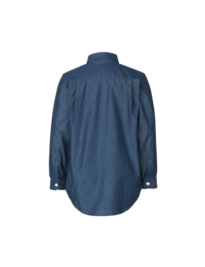 Denim Shirt Svantino, Dark Indigo