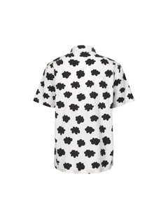 Clouds Sagat Short, Black/White