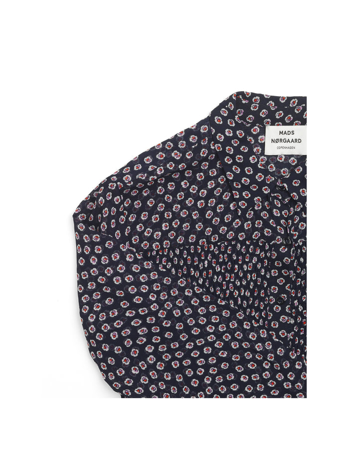 Bloom Crepe Smockilla, Navy