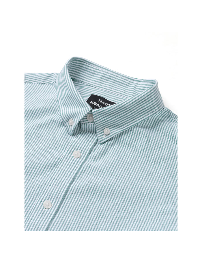 Striped Oxford Sawsett, Sea Spray Stripe