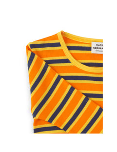 2X2 Soft Stripe Talino, Multi Orange