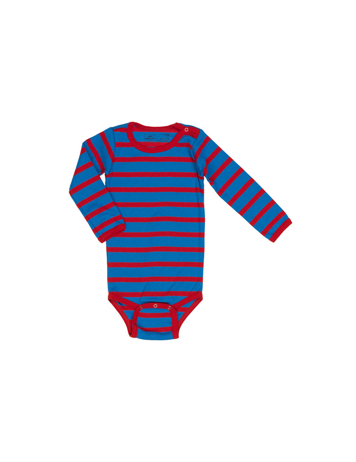 Trio Rib Body, Blue/Red