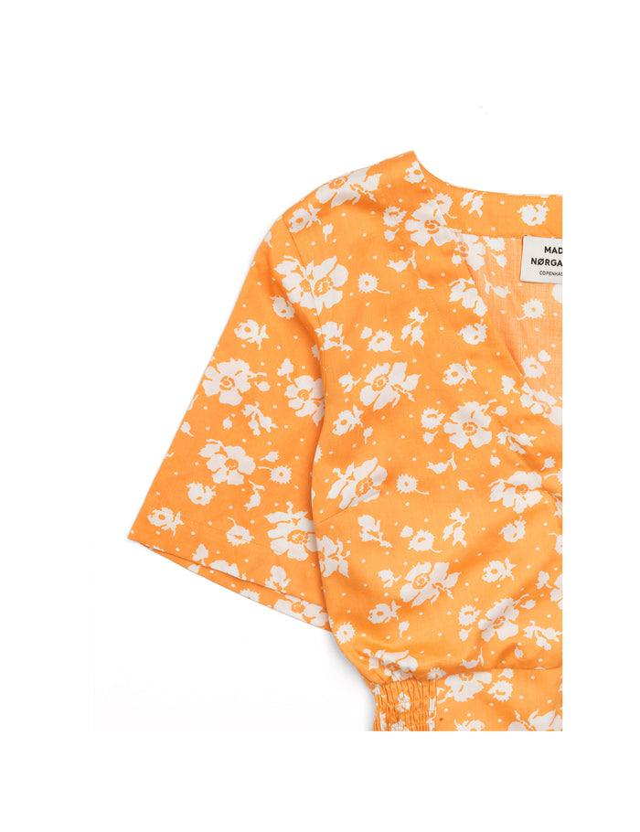 Soft Flower Brialla, Orange/White