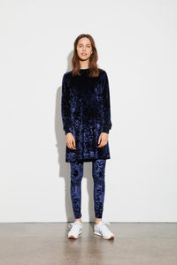 You added <b><u>Crushed Velvet lux Dizzle, Navy</u></b> to your cart.