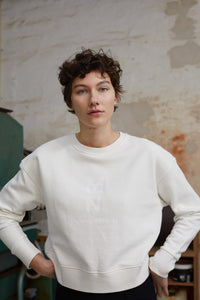 You added <b><u>Organic sweat Tilvina P, Ecru/White</u></b> to your cart.