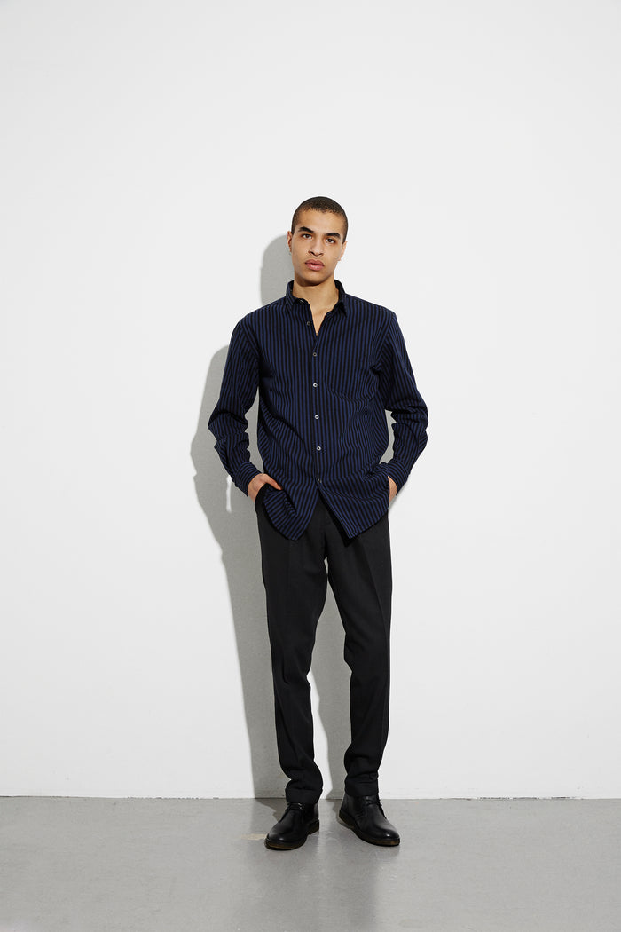 Wool Twill Party, Black