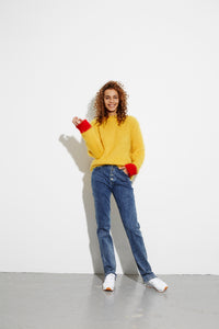 You added <b><u>Bold mohair boutique Kranny r, Yellow/Red</u></b> to your cart.