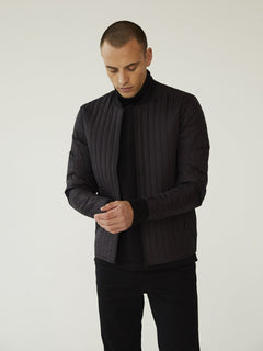 Quilt Janus Jacket, Black