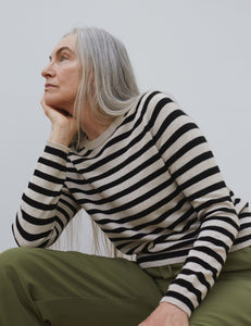 You added <b><u>Cosy Recy Stripe Kaxa Stripe, Beige/Black Stripe</u></b> to your cart.