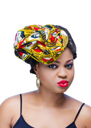 Head Wrap - Afrocentric Fashion Store-Ebbyz
