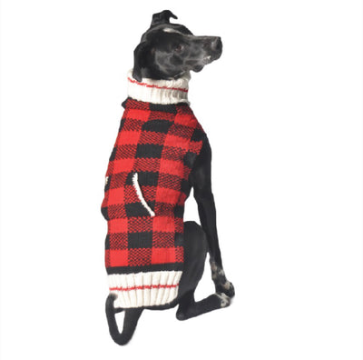 THE BUFFALO PLAID SWEATER