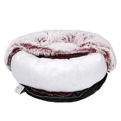 Soft Plush Calming Dog Bed