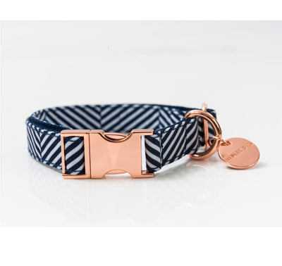 Rose Gold Fabric Collars