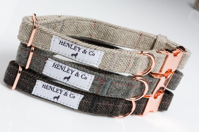 Henley & Co Tweed Collars