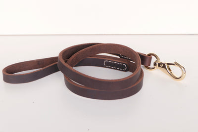 RAF Genuine Leather Dark Tan Leash