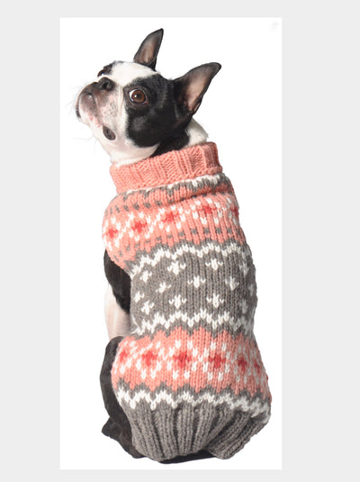 The Peach Fairisle Sweater