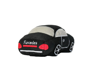 FURCEDES CAR | PLUSH SQUEAKER TOY