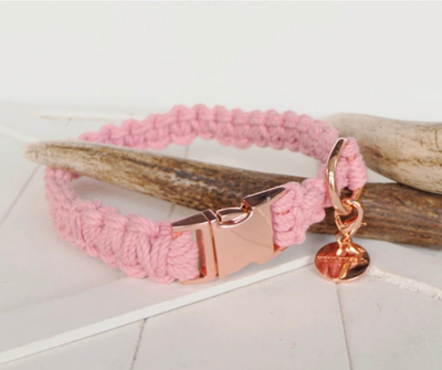H&Co Macramé Collar & Lead