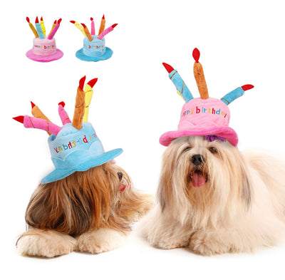 Dog Birthday Cake Hat