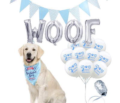 WOOF BALLOON SET