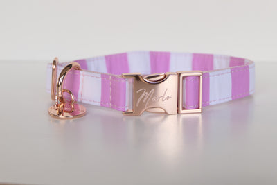 ROSE GOLD FABRIC COLLAR