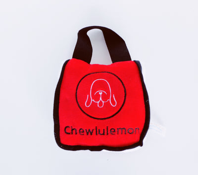 CHEWLULEMON BAG | PLUSH SQUEAKER TOY