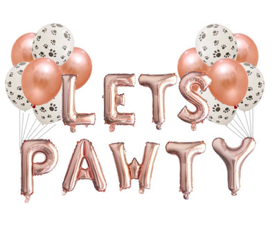 Let's PAWTY Balloon Set
