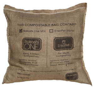 Bokashi one mix 4kg, compostable bag